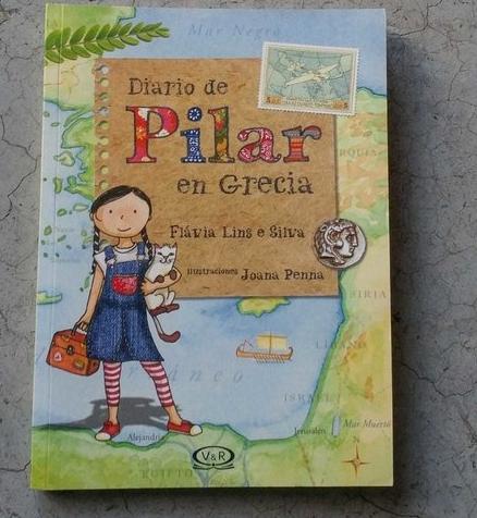 Diario de Pilar en Grecia. [Reseña]